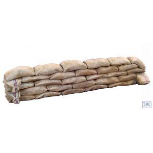 B51002 W.Britain Mealie Bag Wall Sections Straight 2 Piece Set Zulu War Collection Matte