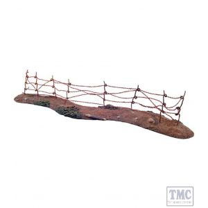 B51006 W.Britain WWI Barbed Wire Section 2 Piece Set World War I Collection