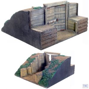 B51010 W.Britain 18th/19th Century Redoubt Gate Section 3 Piece Set Tactical Scenes Collection