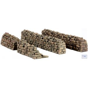 B51033 W.Britain Rorke's Drift Kraal Straight Sections 4 Piece Set Zulu War Collection Matte