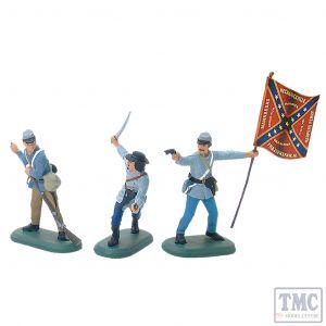 B52000 W.Britain American Civil War Confederate Infantry Set №1 Super Deetail Plastics