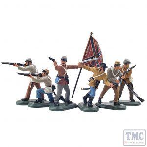 B52001 W.Britain American Civil War Confederate Infantry Set №2 Super Deetail Plastics