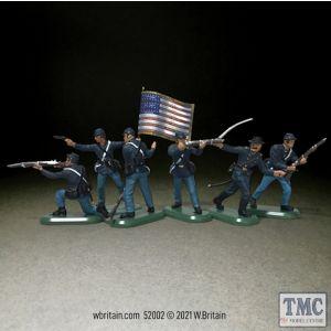 B52002 W.Britain American Civil War Union Infantry Set No.1 Super Deetail Plastics