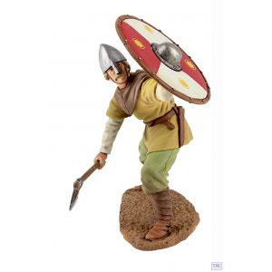 B62101 W.Britain Viking wearing Spangenhelm Defending Wrath of the Northmen Collection