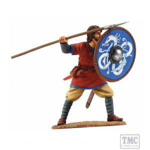 B62107 W.Britain Viking Shield Wall Defender 4 Wrath of the Northmen Collection