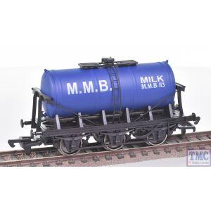B719 Dapol OO Gauge 6 Wheel Milk Tank Wagon M.M.B.
