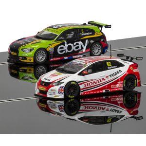C3694A Scalextric BTCC 2014 CHAMPIONS SPECIAL EDT