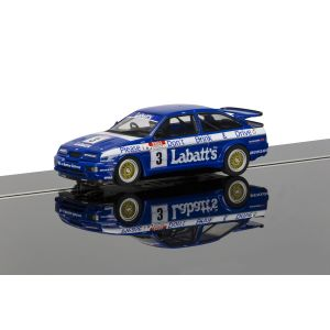 C3867AE Scalextric Autograph Series Ford Sierra RS500 (Tim Harvey)