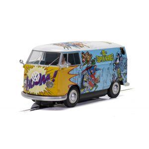 C3933 Scalextric VW Panel Van T1b - DC Comics