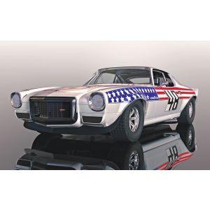 C4043 Scalextric Chevrolet Camaro 1970 - Stars n Stripes