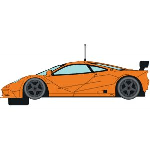 C4102 Scalextric McLaren F1 GTR Papaya Orange