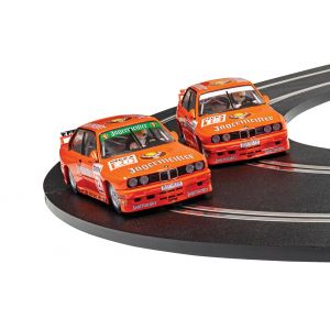 C4110A Scalextric BMW E30 M3 - Team Jagermeister Twin Pack