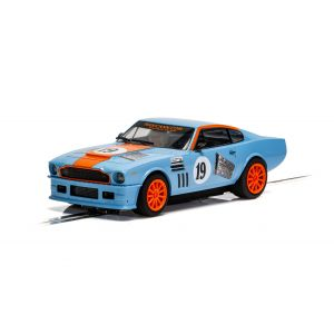 C4209 Scalextric Aston Martin V8 - Gulf Edition - Rikki Cann Racing