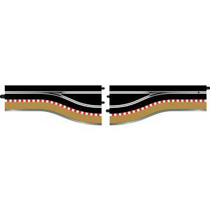 C7014 Scalextric Pit Lane Track (Left Hand) - Includes Sensor
