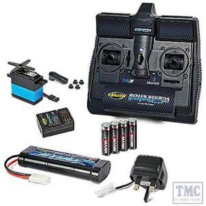 C707132 Tamiya R/C Starter Set inc radio battery chgr