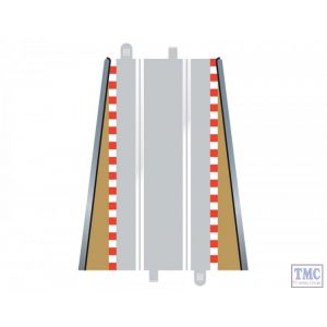 C8233 Scalextric Lead in / Lead Out Borders x 2