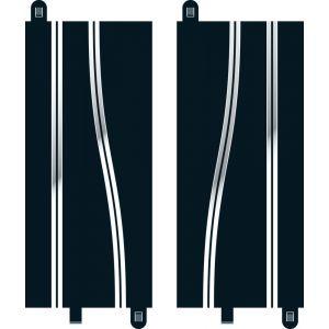 C8246 Scalextric Side Swipe Straights x 2