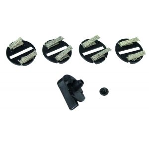 C8329 Scalextric Guide Blades x 4, Braid Plates x 4 and Screw Pack