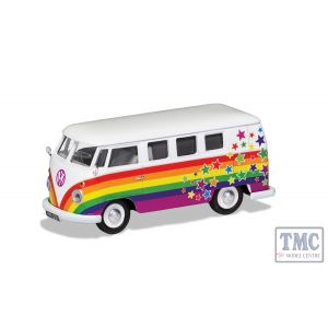CC02731 Corgi 1:43 Scale Volkswagen Campervan - Peace Love and Wishes