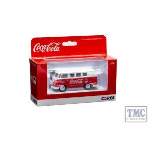 CC02732 Corgi 1:43 Scale Coca Cola Early - 1960's VW Camper