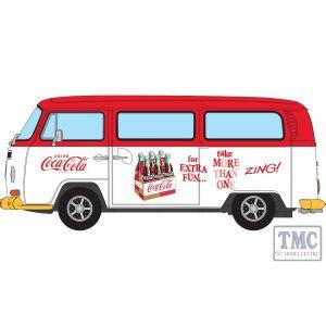 CC02744 Corgi 1:43 Scale Coca Cola VW Camper - Zing