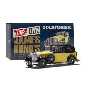 CC06805 Corgi 1:36 Scale James Bond - Rolls Royce Sedance de Ville - 'Goldfinger'