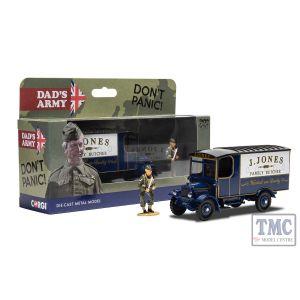 CC09003 Corgi 1:50 Scale Dads Army TV Series - J. Jones Thornycroft van and Mr Jones Figure