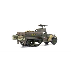 CC60418 Corgi 1:50 Scale White M3A1 Half Track, 'DARING', D Company, 1st Battalion, 41st Armoured Infantry Regiment, 2nd Armoured Division, Cantigny, France, 31st August 1944