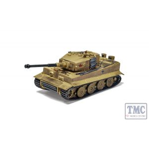 CC60514 Corgi 1:50 Scale Panzerkampfwagen VI Tiger Ausf E (Late production), Turret Number 'Black 300', sPzAbt. 505, Eastern Front, Summer 1944, Russia on the offensive