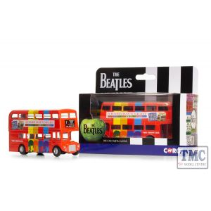 CC82334 Corgi 1:64 Scale The Beatles - London Bus - 'A Hard Day's Night'
