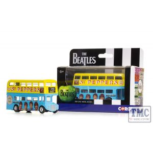 CC82339 Corgi 1:64 Scale The Beatles - London Bus - 'Sgt. Pepper's Lonely Hearts Club Band'