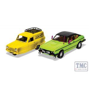 CC99189 Corgi 1:36 Scale Del Boy's Reliant Regal and Ford Capri MkII