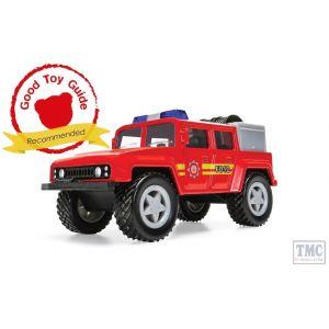 CH006 Corgi CHUNKIES Off Road Fire Engine U.K.