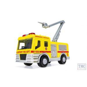 CH033 Corgi CHUNKIES Airport Fire Crane Snorkel U.K.
