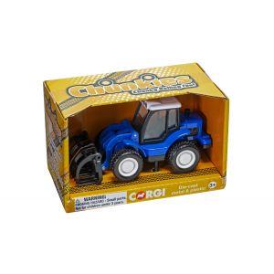 CH083 Corgi CHUNKIES Loader Tractor Farm (Blue)