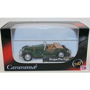 CR045 Cararama 1:43 Scale Cararama Morgan Plus 8 Convertible Green