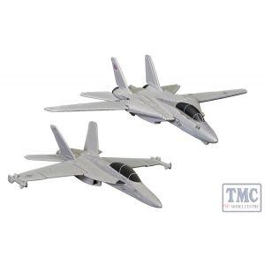 CS90682 Corgi Maverick & Goose's F14® Tomcat® (Top Gun, 1986) and Rooster's F/A-18 Hornet™ (Top Gun Maverick, 2020)