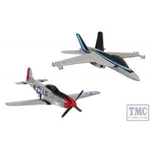 CS90683 Corgi Maverick's F/A-18 Hornet™ and P-51D Mustang™ Hornet™ and P-51D Mustang™ (Top Gun Maverick, 2020)