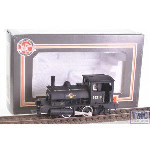 R3728 Hornby OO Gauge BR Class 21 'Pug' 0-4-0ST 51207 - Era 4