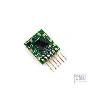 DCC93 Gaugemaster Ruby Series 2dn Small DCC Decoder 6 Pin