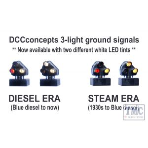 DCD-GS-BR-D DCC Concepts 12 x 2-wire DIESEL Era 3-light Ground Signal