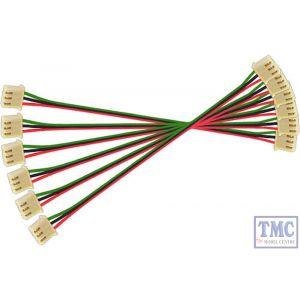 DCD-SE6.100 DCC Concepts Alpha Switch Extension Leads (6 x 100mm)