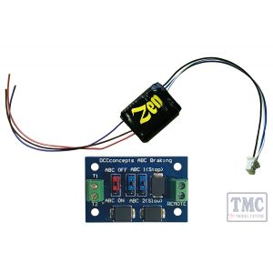 Zen Black Decoder: Universal easy to fit 8-pin direct decoder with 6 functions. Includes 1x ABC module.