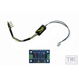 Zen Black Decoder: Super THIN NANO 8 Pin with harness – 2 Function. Includes 1x ABC module.