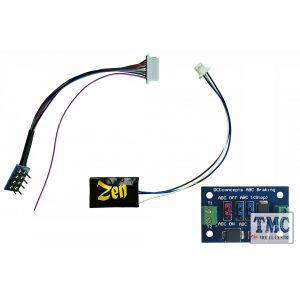 DCD-ZNmini.4A DCC Concepts Zen Black Decoder: Classic small decoder with 8-pin harness. 4 Functions. plus 1x ABC module