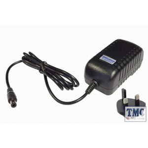 DCP-12.3.UK DCC Concepts 12V DC, 3A (UK) Super-high reliability power supply for DC/DCC systems – 2.5mm DC plug