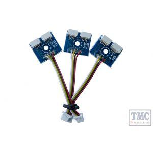 DCP-CBRSL DCC Concepts 3x SHORT (50mm) Cobalt-SS Reverse Connection Adapters