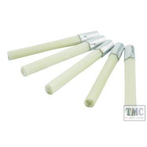 DCT-FBSMR DCC Concepts Fibreglass Brush Refills (Medium) (5 Pack)