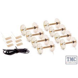 DCW-W14S-EM DCC Concepts Quality Wheelsets EM/18.2mm Track 8x 14mm