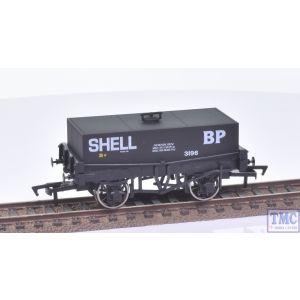 Dapol OO Gauge Rectangular Tank Wagon SHELL BP 3196 (Burnham & District)(Mint Boxed)(Pre-owned)
